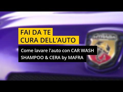 Come lavare l'auto con Car Wash Shampoo & Cera di MA-FRA