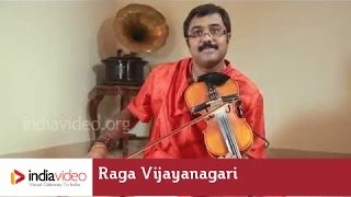 Raga Series - Raga Vijayanagari on Violin by Jayadevan
