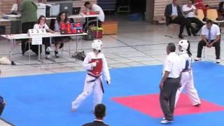Taekwondo Turnier Stuttgart Open 2011 Cagla C.