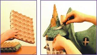 ❣DIY Paper Clay Using Egg Cartons❣