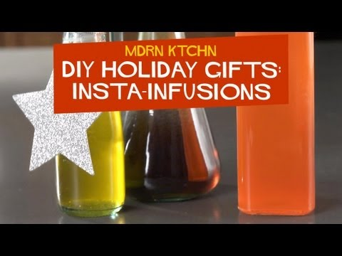 Make Infused Liquors, Oils And Syrups In Seconds