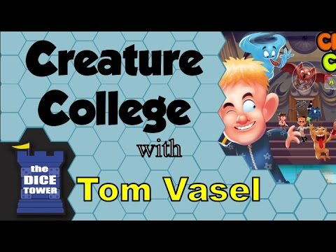 Dice Tower Reviews: Creature College