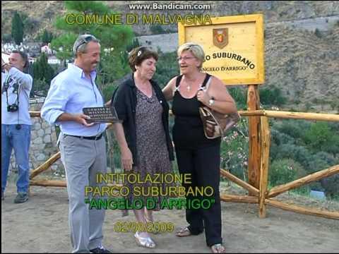 """Inaugurazione parco """" Angelo D` Arrigo """" - Anno 2009"""