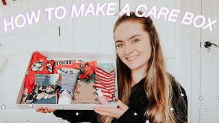 HOW TO MAKE A CARE PACKAGE FOR YOUR FRIENDS   DIY QUARANTINE CARE PACKAGE