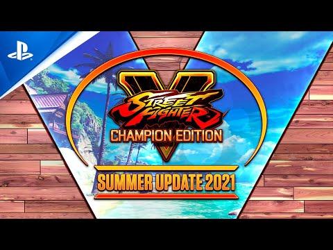 Street Fighter V Sommer-Update 2021: Vergangenheit, Gegenwart und Zukunft