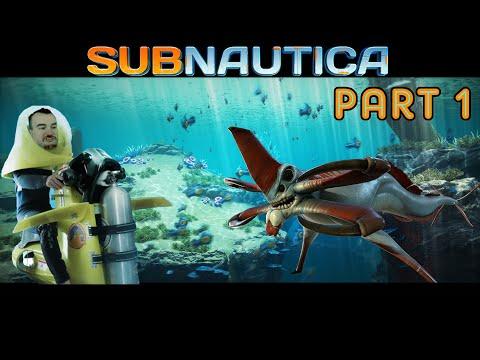 Barb plays Subnautica Part 1 - The Adventure begins!