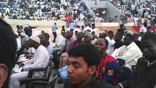 preview picture of video 'ahammed sabir with zakir naik in Abuja'