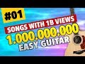 Billion View Guitar 01. Easy Guitar Tabs for Beginners