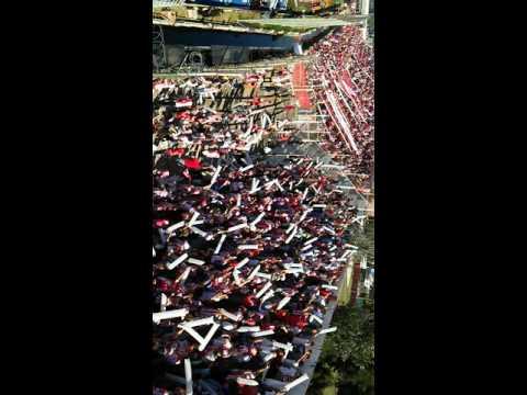 """Clasico Santafesino UNION 1 COLON 0 Recibimiento Tatengue"" Barra: La Barra de la Bomba • Club: Unión de Santa Fe"