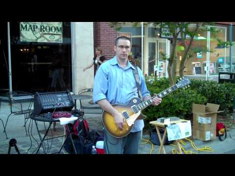 "JB Mayes live at Music in the Streets:  ""Dreams Before Dawn"""
