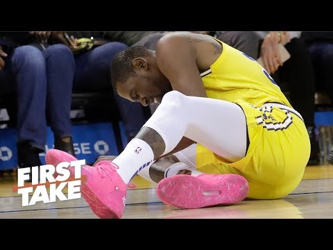 Download Kevin Durant's injury could fuel the Rockets' chase for the No. 1 seed - Max Kellerman | First Take HD Mp4 3GP Video and MP3