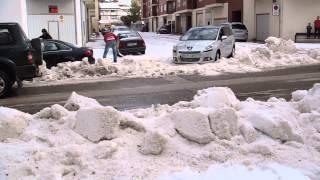 preview picture of video 'Tormenta del siglo en Almazan, Soria, 2 julio 2014 2/7'