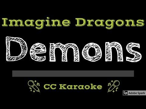 Imagine Dragons • Demons (CC) [Karaoke Instrumental Lyrics]