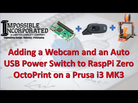 Add Wifi Prusa MK3 - Raspberry Pi Zero W and OctoPrint - Chris's