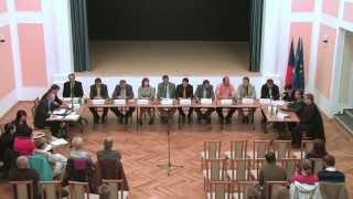 preview picture of video 'Ustavující veřejné zasedání Zastupitelstva obce Mutěnice 4.11.2014'