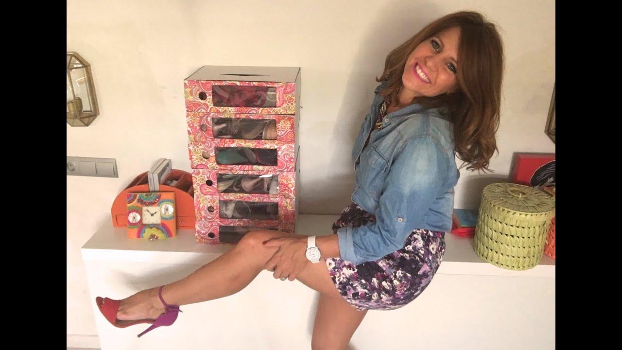 Por fin tus zapatos organizados con...¿¿archivadores de oficina??