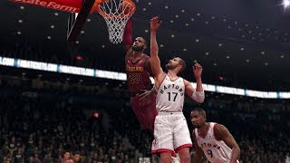 NBA LIVE Playoffs 2018 Cleveland Cavaliers vs Toronto Raptors Full NBA Game 2 | NBA LIVE 18