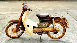 HONDA Cub 1981 50cc Restoration
