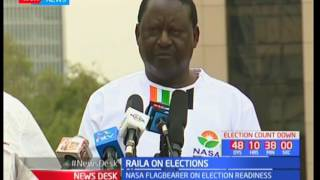 Raila Odinga: Over 120 Military personnel have been deployed for special operations