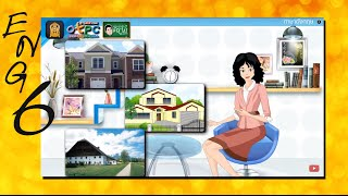 สื่อการเรียนการสอน Types of Homes (ประเภทของบ้าน)ป.6ภาษาอังกฤษ