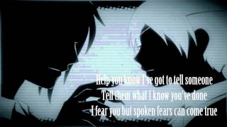 Evanescence - Bleed [ Male version / Lyrics ]