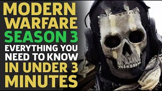 Call Of Duty Modern Warfare Season 3: Everything You Need To Know In Under 3 Minutes