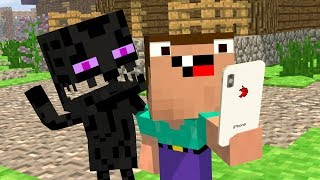 Noob & Endy Life - Ep 1: iphone X - Minecraft Animation | Noob & Brothers Series