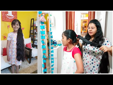 My Daughter's Hair Care Routine | Long Hair Care Tips | Maitreyee's Passion