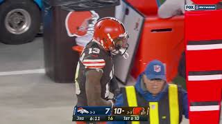Odell Beckham Jr. FIRED UP after back-to-back catches