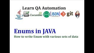 Defining Enums to represent various sets of data in Java