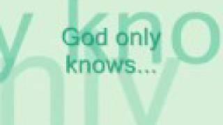 God Only Knows - Joy Williams (With Lyrics)