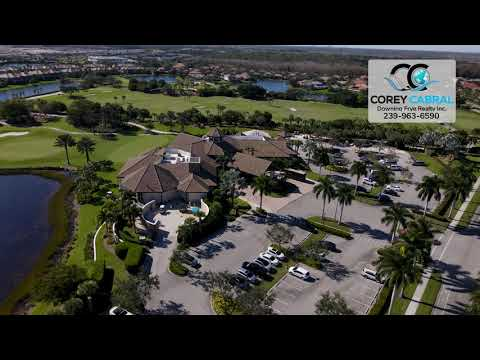 The Quarry Golf Club Naples FL Clubhouse Real Estate Homes & Condos Aerial View