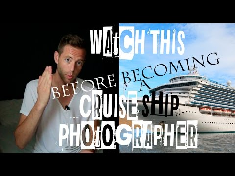 Cruise Ship Photographer Review –  Here's What Really It's Like! – VID #49