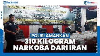 Polres Metro Jakarta Pusat Amankan 310 Kilogram Narkoba, Pabriknya Disebut Berada di Iran