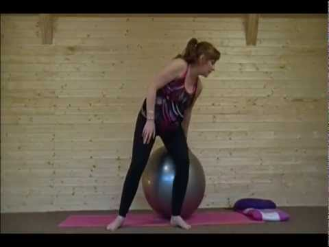 Pregnancy Yoga Ball Class - 20 Min Home Practive