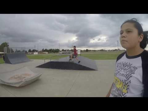 Skate Fun In Watonga, Ok at the Watonga Skate Park