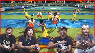 2v2 NFL Tour Throwback Couch Play! (The Crap Talk Was Real!)