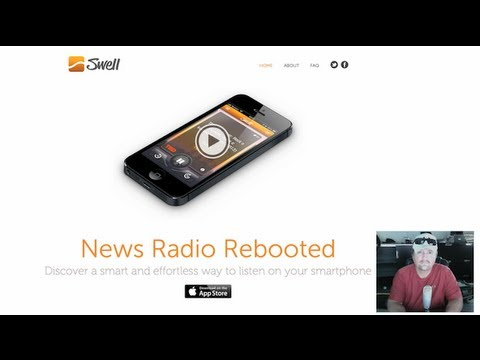 iPhone App For News & Podcasts ~ Swell News Radio App Review