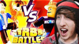 RYGUY VS BIGBST4TZ2! [Reaction] Roblox RB Battles Championship