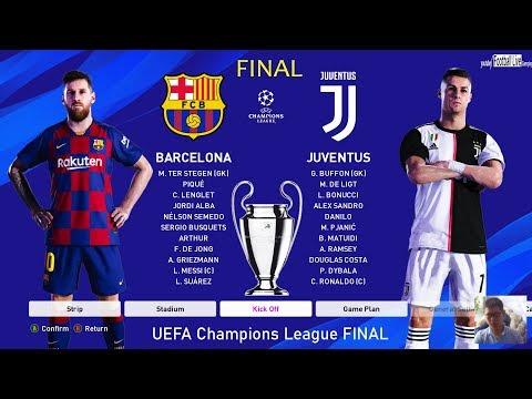 PES 2020 | Final UEFA Champions League - UCL | Barcelona vs Juventus