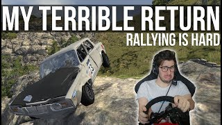 My Not So Triumphant Return To BeamNG Rallying