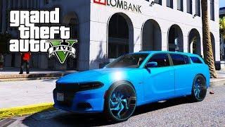 2018 Dodge Magnum On 24s! GTA 5 Real Life Mod #78 (Real Hood Life 3)