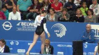EC 2016 Bern Seniors Qualifications GER Sarah Voss Vt