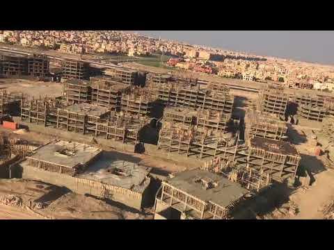 فيلم مصور من أرض المشروع الجديد لجامعة القاهرة