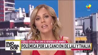 """""""Eres Lindo Pero Bruto""""   Escándalo Por Una Canción De Lali Y Thalia"""