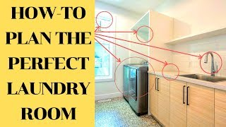 How To Plan Your Custom Laundry Room Like A Pro | Luxury Home Building