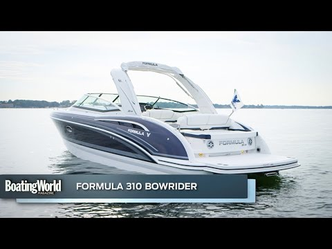 Formula 310 Bow Ridervideo