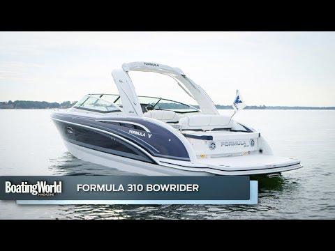 Formula 310 Bow Rider video