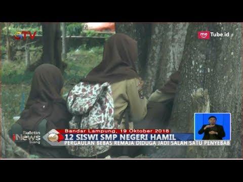 HEBOH! 12 Siswi SMP Negeri di Lampung Hamil, Disdikbud Turun Tangan - BIS 20/10