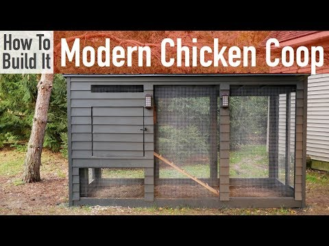 , title : 'How to Build a Modern Chicken Coop